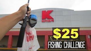 Download $25 Kmart Fishing Challenge!! (Surprising!) Video