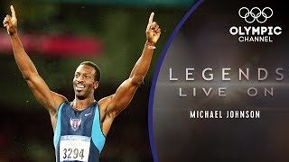 Download What is Athletics Icon Michael Johnson Doing Now? | Legends Live On Video