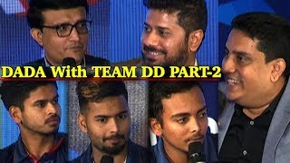 Download Dada on Rishab Pant Exclusive - Sourav Ganguly says talent like Pant good for India Video