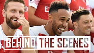 Download Behind the scenes at Arsenal's 2018/19 photocall Video