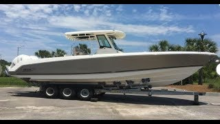 Download 2018 Boston Whaler 330 Outrage Boat For Sale at MarineMax Charleston Video