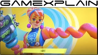 Download ARMS - Lola Pop 1 on 1 Gameplay (Gamescom) Video