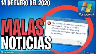 Download ⚠️ IMPORTANTE Windows 7 Extiende su SOPORTE / Malas Noticias Video