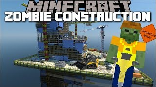 Download Minecraft ZOMBIE HOUSE CONSTRUCTION MOD / ZOMBIE'S BUILD ME A BRAND NEW MONSTER !! Minecraft Video