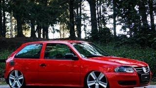 Download Sem Dó!VW Gol G4 Rebaixado Roda Paralama Suspensão Fixa - Aro 18 Cross - Canal 7008Films Video