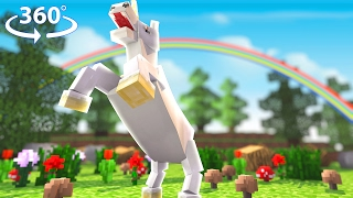 Download Flying Unicorns! - Asleep 2 - Minecraft 360°Video - Pt.1 Video