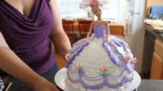 Download How To Make A Barbie Cake / Cake Decorating Video