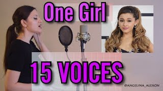 Download One Girl 15 Voices (Ariana Grande, Mariah Carey, Celine Dion and more) Video