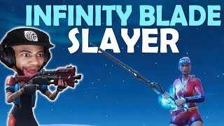 Download KILLING INFINITY BLADE PLAYERS | TAC SHOTGUN IS OP! | HIGH KILL FUNNY GAME- (Fortnite Battle Royale) Video