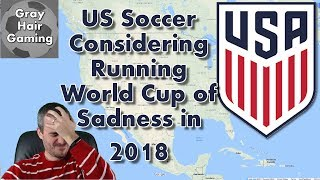 Download US Soccer Considering Running a World Cup of Sadness with Teams Who Didn't Qualify for Russia 2018 Video