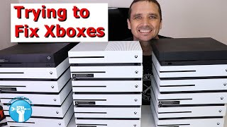 Download I bought 18 broken Xboxes - Can I Fix Them and Make Money? Video