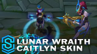 Download Lunar Wraith Caitlyn Skin Spotlight - League of Legends Video