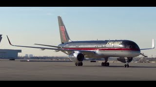 Download Donald J. Trump Arrives At Chicago O'Hare Int'l Airport [N757AF] TRUMP Boeing 757 [03.11.2016] Video