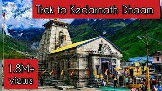 Download केदारनाथ धाम की यात्रा   कठिन चढ़ाई   भोले के भक्त   Kedarnath Trek June 2017   Video