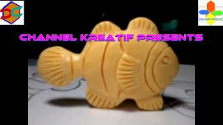 Download Soap Carving | Clown Fish | Nemo | Easy | DIY | Tutorial Membuat Ukiran Patung Sabun Ikan Badut Video