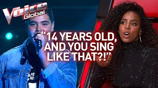 Download Wow! NOBODY believed this singer in The Voice is just 14 years old! | Journey #47 Video