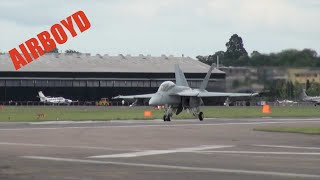 Download F-18 Super Hornet - Farnborough Airshow Video