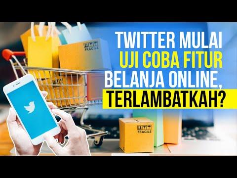 Twitter Uji Coba Fitur Belanja Online, Pasar Makin Ramai
