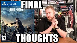 Download FINAL FANTASY XV FINAL Thoughts - Happy Console Gamer Video