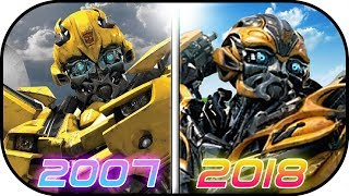 Download EVOLUTION of BumbleBee in Transformer MOVIES (2007-2017) Bumblebee the movie history transformer Video