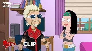 Download American Dad | Jeff Becomes Guy Fieri [CLIP] | TBS Video