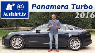 Download 2017 Porsche Panamera Turbo - Fahrbericht der Probefahrt, Test, Review Ausfahrt.tv Video