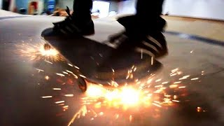 Download SKATEBOARD WHEELS THAT SPARK! | YOU MAKE IT WE SKATE IT EP 66 Video