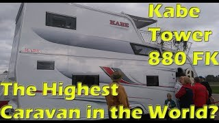 Download Highest Caravan: Kabe Tower 880, with two floors and a terrace / Tvåvåningsvagn Video