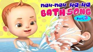 Download Nah Nah Ha Ha - Bath Song | Baby Ronnie Rhymes | Videogyan Kids Songs | 3D Rhymes Video