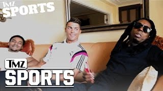 Download Lil Wayne Signs Cristiano Ronaldo To His Sports Marketing Company | TMZ Sports Video