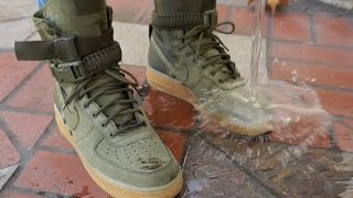 Download NIKE SF AF1: REALEST ON FOOT + WATERPROOF TEST // NIKE SPECIAL FIELD AIR FORCE 1 Video