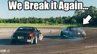 Download LS Miata's Last Drift Event! Will She Hold Together (Spoiler: No..lol) Video
