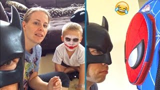 Download TRY NOT TO LAUGH - Funniest BatDad Vines Compilation (Impossible!) | BEST VINES Video