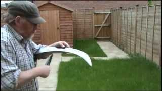 Download Scythe lawn mow Video
