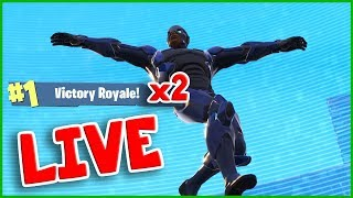 Download VICTORY ROYALE TWICE in ONE LIVE STREAM!!! Should I go PRO on Fortnite? Video