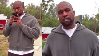 Download EXCLUSIVE - Kanye West Interrupts Phone Call With Kim Kardashian To Speak With Paparazzo Video