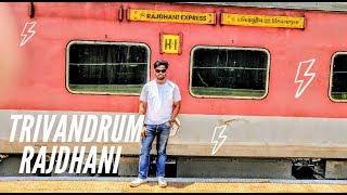 Download Trivandrum Rajdhani Express 1st Class AC full journey Video