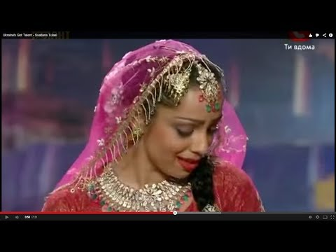 Ukraine's Got Talent - Bollywood Mujra (Kathak dance) by Svetlana Tulasi