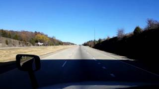 Download Bigrigtravels Live! - Van Buren to Springdale, Arkansas - Interstate 49 - December 1, 2016 Video