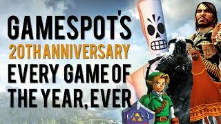 Download Every Game of the Year Ever - GameSpot 20th Anniversary Video