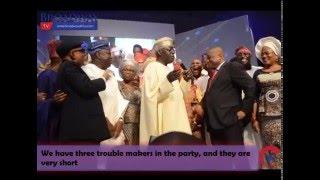 Download Osinbajo Throws Jibes at Tinubu, Tinubu Fires Back....Watch Tinubu Do Eyo Dance Video
