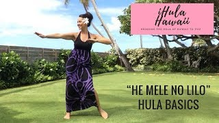 Download DISNEY'S LILO & STITCH - ″HE MELE NO LILO″ - HULA BASICS FOR BEGINNERS Video
