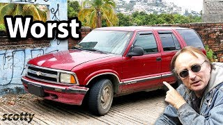 Download This Chevy Blazer is the Worst SUV Ever Made Video