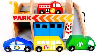 Download Learn Colors and Counting for Toddlers with Toy Vehicles Garage Parking and Car Wash Service for Kid Video