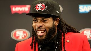 Download Cam Inman and Dieter Kurtenbach discuss Richard Sherman's first press conference with the 49ers Video