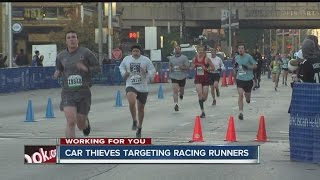 Download Thieves targetting cars of people running in races Video