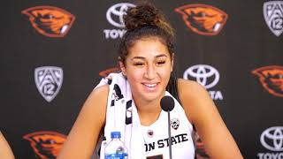 Download Oregon State Women's Basketball: Presser vs Washington Video