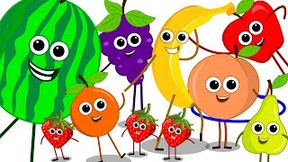 Download The Fruits Song | Learn Fruits Nursery Rhymes | Baby Songs | Kids Rhymes For Children | Kids Tv Video