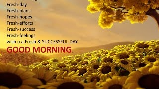 Download Good morning whatsapp video-greetings-sms-latest good morning wishes-ecards-quotes-sayings-images- Video