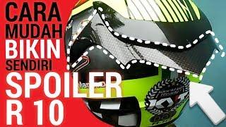 Download [TUTORIAL] CARA MUDAH BIKIN SENDIRI SPOILER BUAT KYT R10 Video